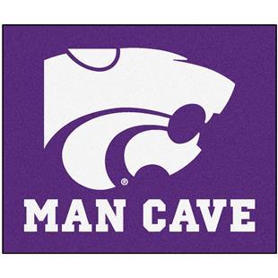 Fan Mats Kansas State Univ. Man Cave Tailgater Mat