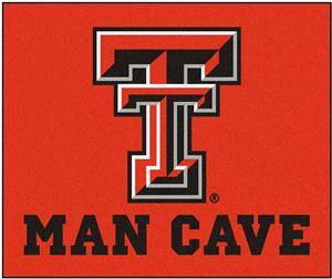 Fan Mats Texas Tech Univ. Man Cave Tailgater Mat