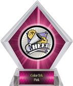 Hasty Awards Xtreme Cheer Pink Diamond Ice Trophy