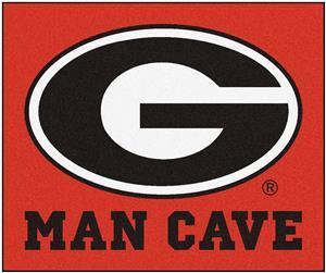 Fan Mats Univ. of Georgia Man Cave Tailgater Mat