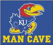 Fan Mats Univ. of Kansas Man Cave Tailgater Mat