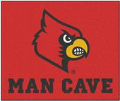 Fan Mats Univ of Louisville Man Cave Tailgater Mat