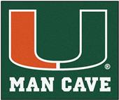Fan Mats Univ. of Miami Man Cave Tailgater Mat