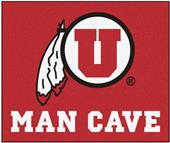 Fan Mats University of Utah Man Cave Tailgater Mat