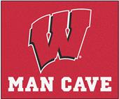 Fan Mats Univ. of Wisconsin Man Cave Tailgater Mat