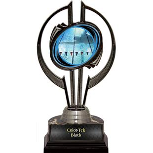 "Black Hurricane 7"" Action Swimming Trophy"