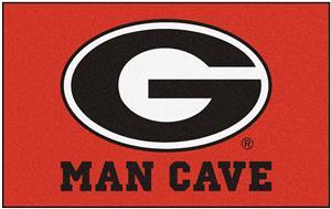 Fan Mats University of Georgia Man Cave Ulti-Mat