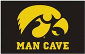Fan Mats University of Iowa Man Cave Ulti-Mat