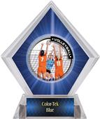 PR2 Volleyball Blue Diamond Ice Trophy