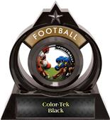 "Hasty Awards Eclipse 6"" P.R.1 Football Trophy"