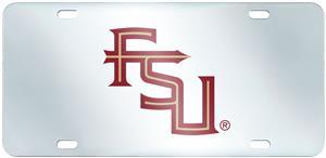 Fan Mats Florida State Univ. License Plate-Inlaid