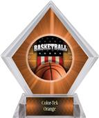Patriot Basketball Orange Diamond Ice Trophy