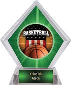 Awards Patriot Basketball Green Diamond Ice Trophy
