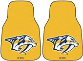 Fan Mats Nashville Predators Carpet Car Mats (set)
