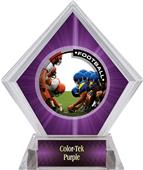 Awards PR1 Football Purple Diamond Ice Trophy