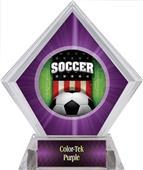Awards Patriot Soccer Purple Diamond Ice Trophy