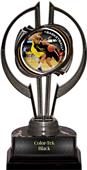 "Black Hurricane 7"" P.R. Female Basketball Trophy"