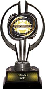 "Black Hurricane 7"" Classic Football Trophy"