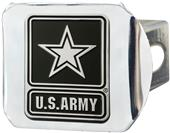 Fan Mats US Army 3-D Chrome Logo Hitch Cover