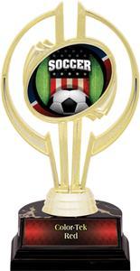 "Awards Gold Hurricane 7"" Patriot Soccer Trophy"