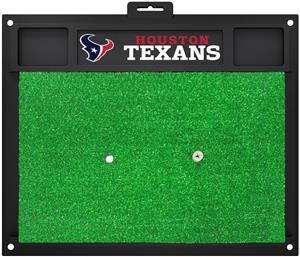 Fan Mats NFL Houston Texans Golf Hitting Mat