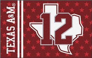 Fan Mats NCAA Texas A&M University Starter Mat