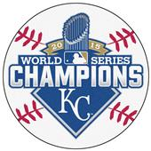 World Series Champ Kansas City Royals Baseball Mat