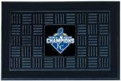 KC Royals World Series Champ Medallion Door Mat