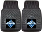 KC Royals World Series Champs Vinyl Car Mats (set)