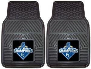 KC Royals World Series Champs Vinyl Car Mats (set)