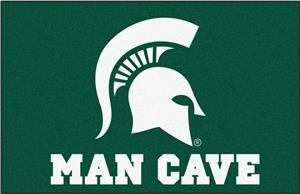 Fan Mats NCAA Michigan State Man Cave Starter Mat