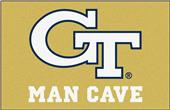 Fan Mats NCAA Georgia Tech Man Cave Starter Mat