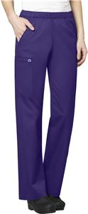 WonderWink Womens Pull-On Cargo Scrub Pants