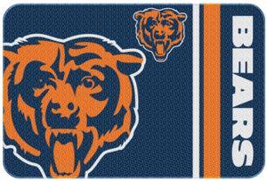 "Northwest NFL Chicago Bears 20""x30"" Bath Rugs"