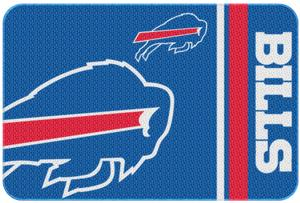 "Northwest NFL Buffalo Bills 20""x30"" Bath Rugs"