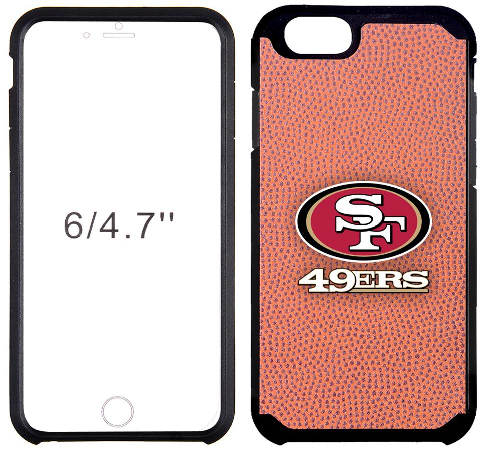 E111638 49ers football pebble feel iphone 6 6 plus case