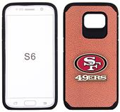 49ers Football Pebble Feel Galaxy S6/S6 Edge Case