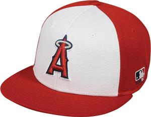 OC Sports MLB Los Angeles Angels Colorblock Cap