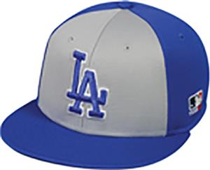 OC Sports MLB Los Angeles Dodgers Colorblock Cap