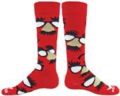 Red Lion Glasses Over-The-Calf Socks