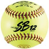 "Dudley Spalding 12"" SB12  ASA Leather Softballs"