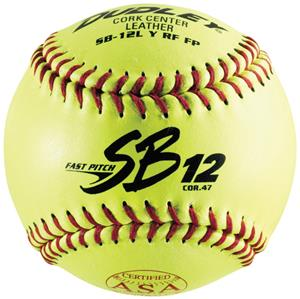 "Dudley Spalding 12"" SB12  ASA Leather Softballs"