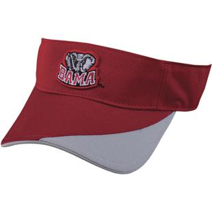 OC Sports College Alabama Crimson Tide Visor
