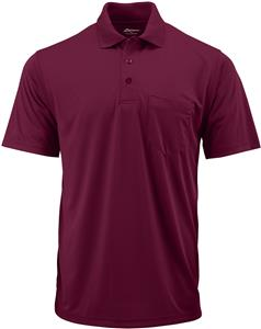 Century Place Adult Snag Proof Polo with Pocket