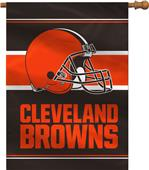"NFL Cleveland Browns 28"" x 40"" House Banner"