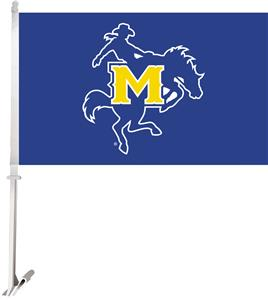 "Collegiate McNeese State 2-Sided 11""x18"" Car Flag"