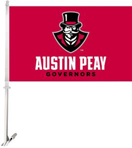 "Collegiate Austin Peay 2-Sided 11""x18"" Car Flag"