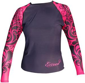To Exceed Women's Ease Long Sleeve Rash Guard