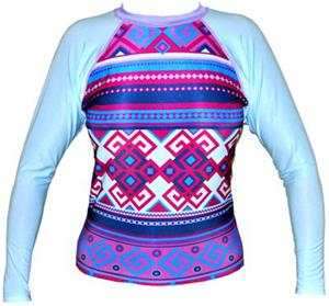 To Exceed Women's Empire Long Sleeve Rash Guard