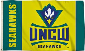 Collegiate UNC Wilmington 3' x 5' Flag W/Grommets